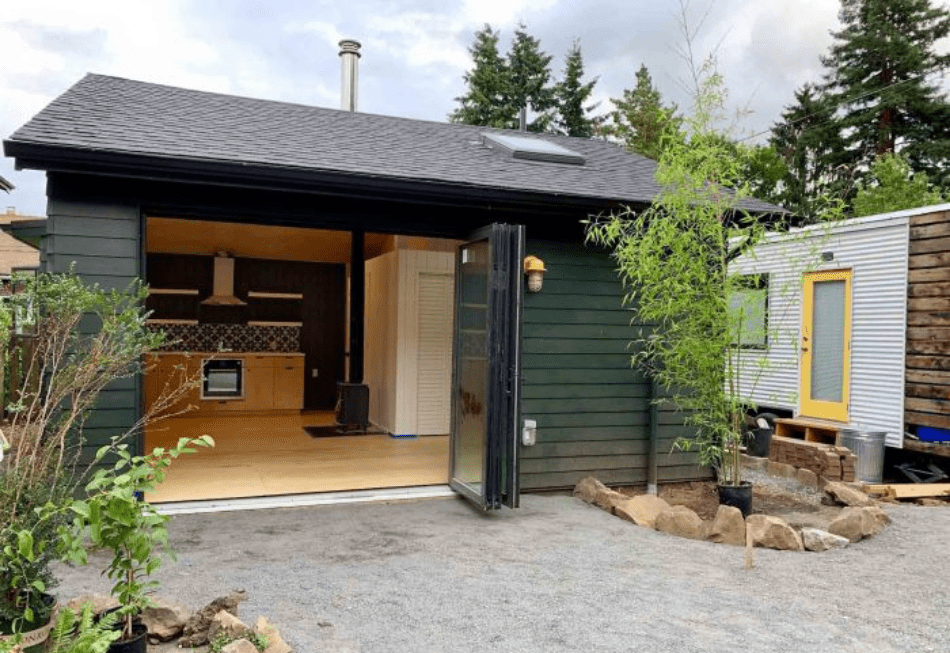 Home office accessory dwelling unit